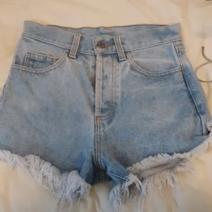 brandy denim shorts